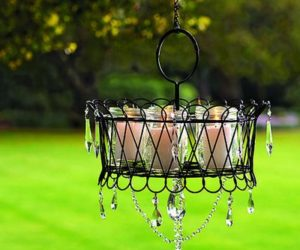 5 DIY Chandelier Designs and Makeovers For The Outdoor Spaces