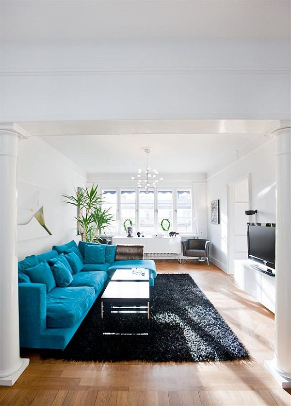 Another Apartment With Turquoise Accents