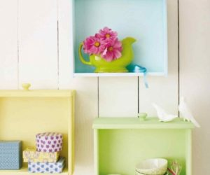 How To Upcycle Old Drawers Into Wall Shelves