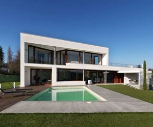Perfect ... Contemporary B House By Damilano Studio Architects