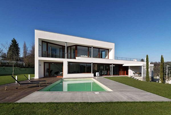 Contemporary b house by damilano studio architects B house
