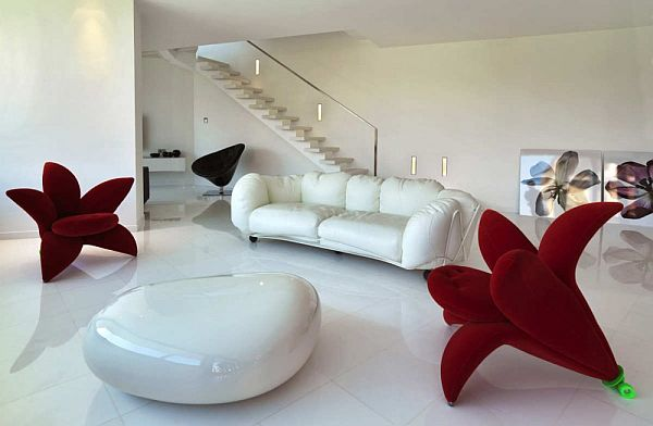 Contemporary B House By Damilano Studio Architects - Horizontal-space-by-duilio-damilano
