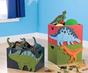 Dinosaur Storage Bins