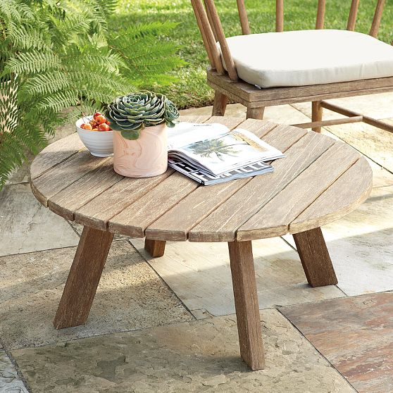 Timeless Dexter outdoor coffee table