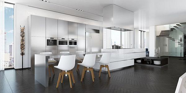 gorgeous sleek digital interior by ando studio rh homedit com digital interior designer digital interior design product library