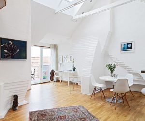 Fantastic attic apartment with terrace