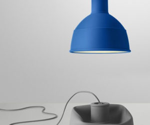 Rubber pendant lamps