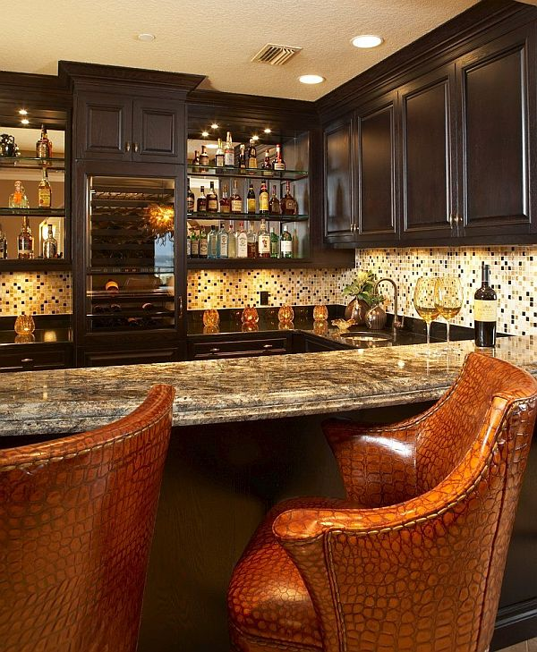 Interesting Home Decor Ideas: Some Cool Home Bar Design Ideas