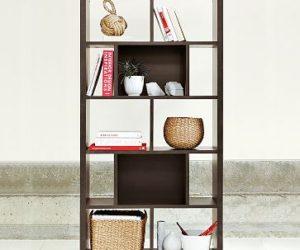 Simple Black Bookcase · Functional Multi Purpose Bookcase