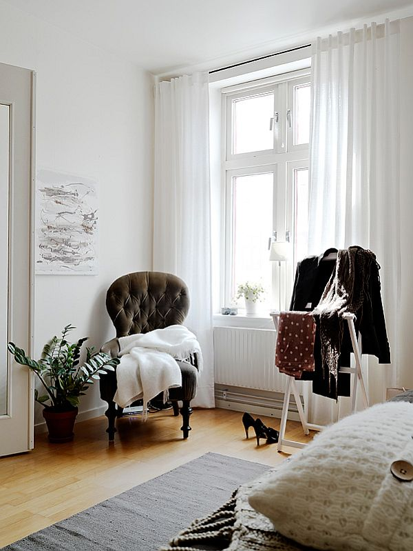 A Warm Interior Design With Ikea Furniture