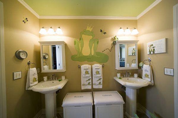 Kids\' bathroom decorating ideas
