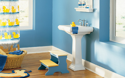 Kids\' bathroom decorating ideas