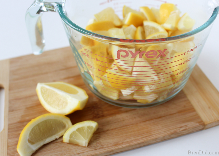 lemon dishwasher detergent
