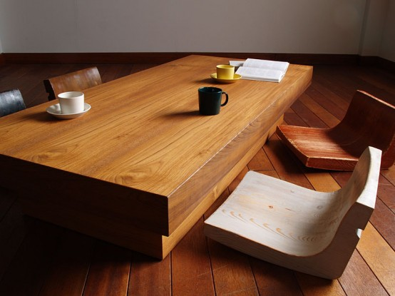 Classical japanese furniture collection for Table japonaise