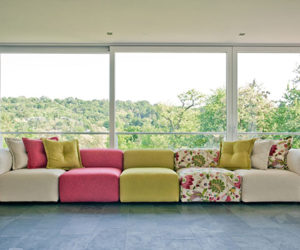 Modular Peahi sofa by Sophisticated Living
