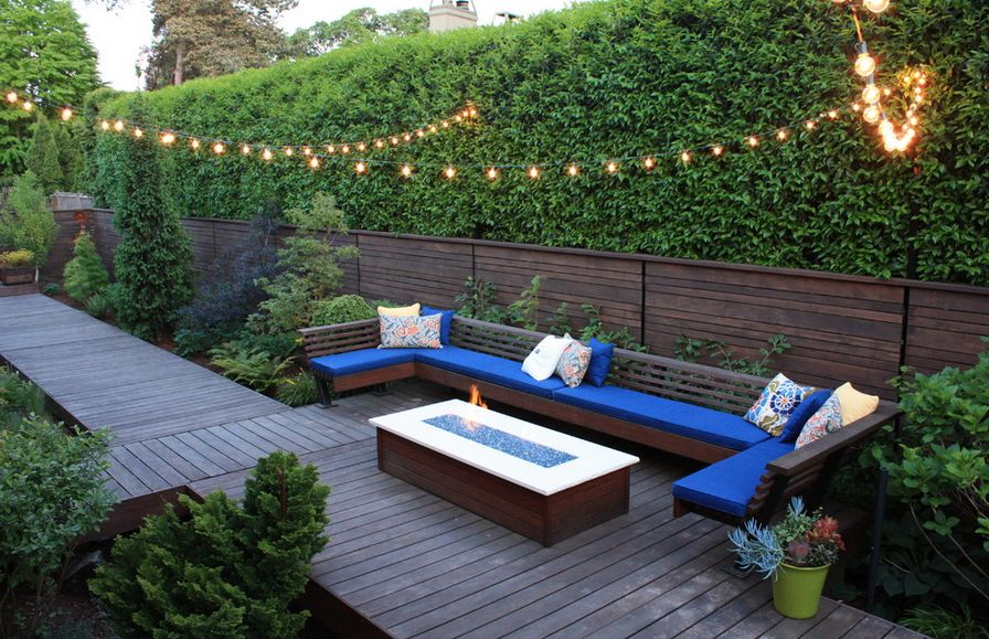 Outdoor Areas More Relaxing