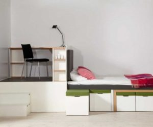 Multifunctional Matroshka Furniture Set For Small Spaces