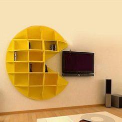 Pac Man Bookcase