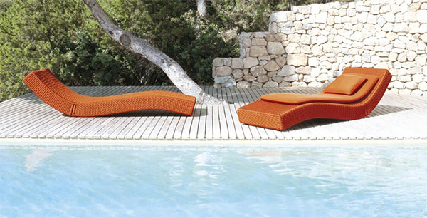 Fesselnd View In Gallery   Wave Outdoor Lounger By Paola Lenti