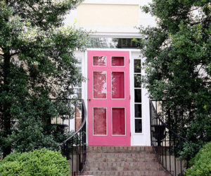 Door Designs; The Feminine touch of Pink..!