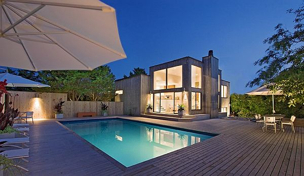 15 poolside area design ideas and how to change your house for Best house designs with pool