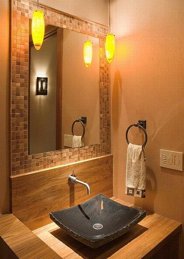 Toilet Room Designs: Powder Room Decoration: Awesome