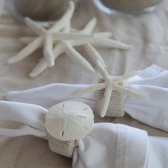 DIY Summer Beachy Napkin Rings By BBB Craft Sisters Images