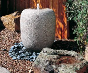 Japanese stone basins from Stone Forest