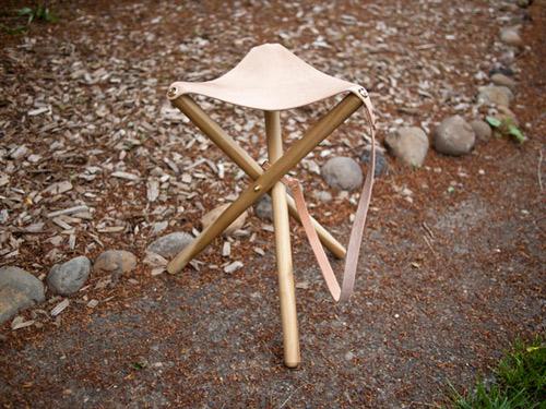 Practical DIY Tripod Camping Stool