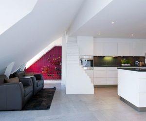 Inspiring White Interior Home
