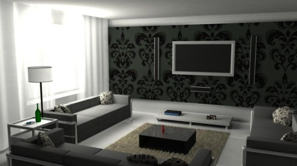 ... Classy Living Room Designs. View In Gallery