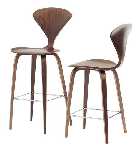 cherner walnut norman chair armchair stardust classic in