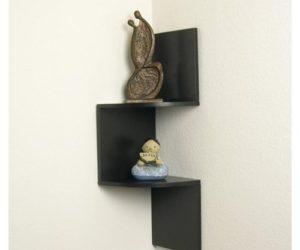 Charming The Coaster Bookcases Casual Corner Shelf · Decorative Corner Shelf Gallery