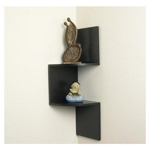 40 Ways To DIY Creative Corner Shelves Simple How To Hang Corner Shelves