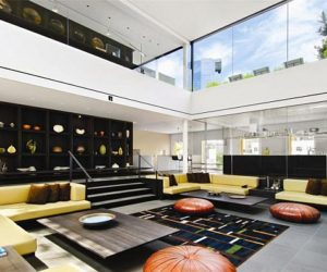 A Modern Penthouse Located 420 West Broadway in Soho