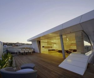Beautiful The Maverick Round Dining Table · The Bondi Rooftop Penthouse By Brian  Meyerson Architects Photo