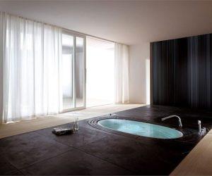 Sorgente Built-In Whirlpool Bathtub by Teuco Guzzini[Video]