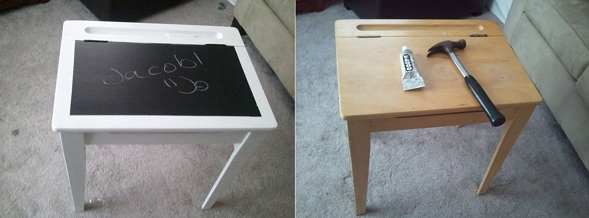Chalkboard Kids Desk