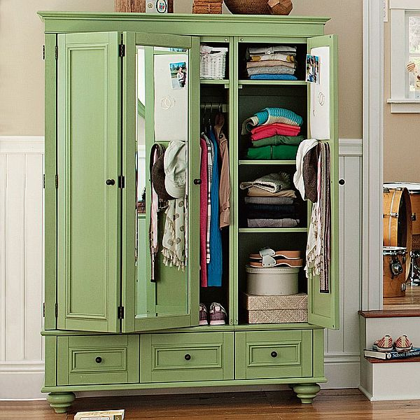 vintage chelsea armoire. Black Bedroom Furniture Sets. Home Design Ideas
