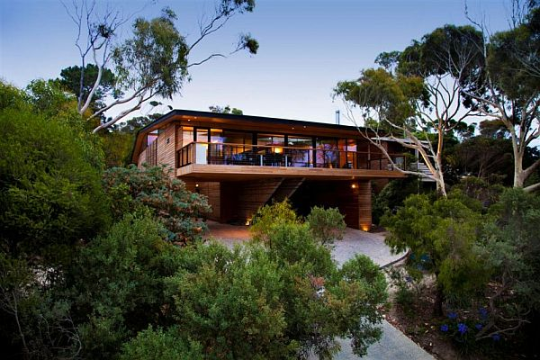 citriodora a nature inspired house in anglesea australia. Black Bedroom Furniture Sets. Home Design Ideas