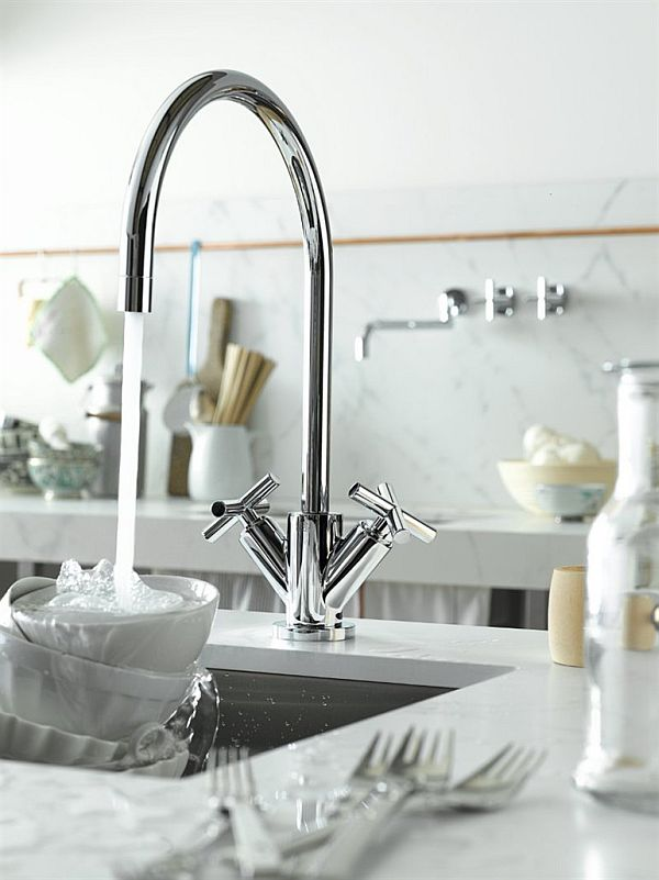 Tara Kitchen Faucet Designs By Sieger Design Simple Kitchen Faucet Design
