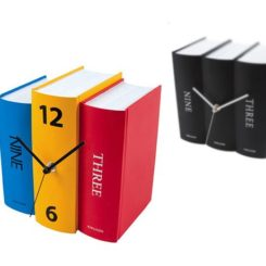 Charming Colorful, Playful Table Clock Book By Karlsson Clocks