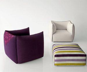 Soft Settanta armchair by Enzo Berti