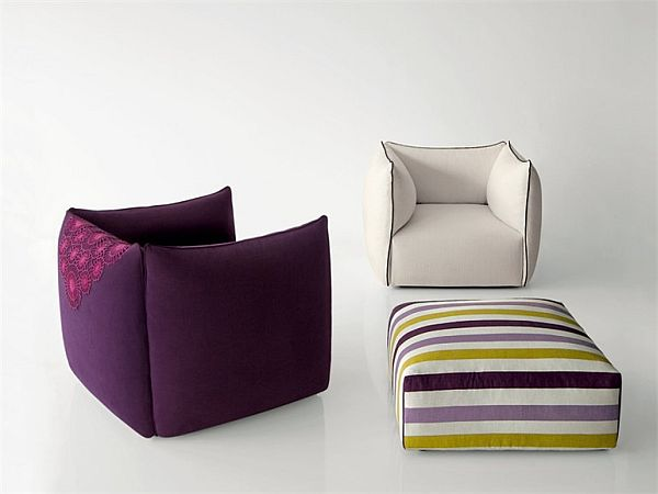 Soft Settanta Armchair By Enzo Berti Gallery