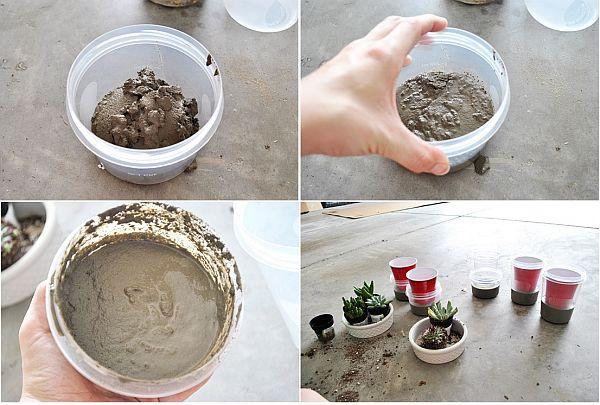 Practical DIY Concrete Planters
