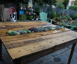 Another DIY Pallets Transformation Into Table