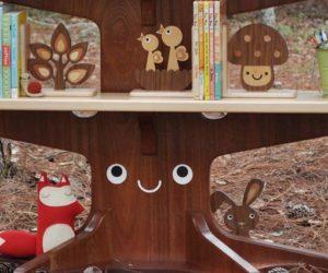 Funny Bookshelf That Looks Like a Tree