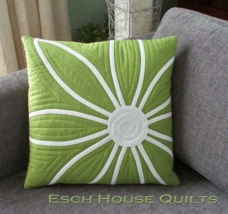 Free green cushion