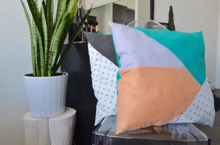 Geometric pillow design