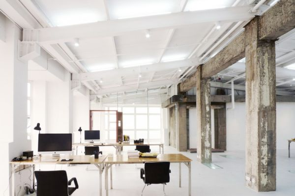 Old and new come together in a gorgeous office interior design - Despachos de arquitectura en barcelona ...